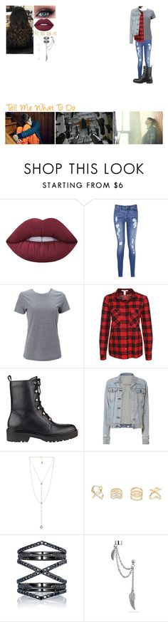 """""""Tell Me What To Do"""" by music-dancer-kpopper5678 ❤ liked on Polyvore featuring Lime Crime, Tommy Hilfiger, Simplex Apparel, NLY Trend, GUESS, rag & bone, Luv Aj, Charlotte Russe, Eva Fehren and Bling Jewelry"""