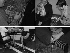 Gosia Wlodarczak Performance - 3: Shared Space - personal space
