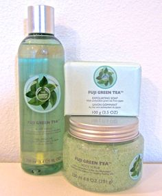 Fuji Green Tea Collection from The Body Shop The Body Shop, Body Shop Store, Body Shop Tea Tree, Body Shop At Home, Shop My, My Beauty, Beauty Care, Exfoliating Soap, Body Spa