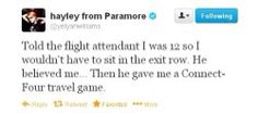 Sometimes Hayley tweets are the best.