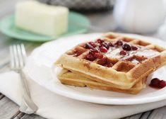 waffle recipe makeover healthier whole wheat waffles