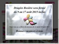 Code promo Dragees Rosiere
