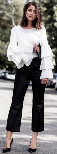 Black And White Chic Spring Street Style |Harper & Harley #black