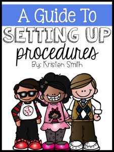 A {FREE} guide to teaching procedures
