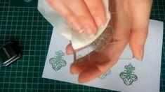 Как пользоваться штампами для скрапбукинга