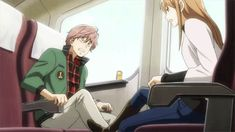(Chihayafuru) Taichi and Chihaya -- their relationship in a nutshell.