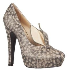 Minna Parikka - DOE BAMBI PRINT  -If I only had the grace and the dress to pull off wearing these!