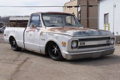 Chevy pick up Bagged Trucks, Lowered Trucks, C10 Trucks, Hot Rod Trucks, Mini Trucks, Pickup Trucks, Gmc Pickup, 67 72 Chevy Truck, Classic Chevy Trucks