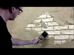 Faux Brick Wall Creative Painting Techniques (+playlist)