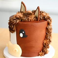 awesome Looking for the perfect cake for your next celebration? Give one of these adorable cowgirl cakes a try! medianet_width = medianet_height = medianet_crid = medianet_versionId = (function() { var isSSL = 'https:' ==. Horse Cake Toppers, Horse Cupcake, Horse Cake Pops, Fondant Horse, Fondant Animals, Fondant Bow, Fondant Flowers, Cowgirl Cakes, Horse Birthday Parties