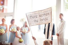 Best Here Comes the Bride Signs