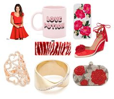 """Valentines Gifts for your Girlfriends"" by varunwins ❤ liked on Polyvore featuring ban.do, Sonix, Edie Parker, Aquazzura, Adina Reyter, Santi, Boohoo and Bronzallure"