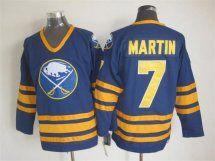 Buffalo Sabres 7 Martin Vintage Home Blue CCM jerseys