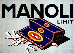 By Hans Rudi Erdt, c. 1 9 1 0,  Manoli, Imp. Hollerbaum & Schmidt, Berlin. (G)(Plakatstyle)