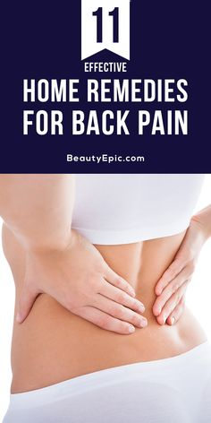 Home Remedies for Back Pain:Are you suffering from back pain? Many people rely on medications, but they come with the risk of side effects. Here are the equally effective alternatives that can be a natural help from nature.