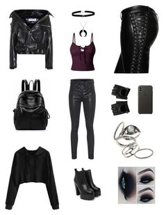 A fashion look from March 2018 featuring cut out top, spaghetti strap tank top and Balenciaga. Browse and shop related looks. Nasty Gal, Bling Jewelry, Hot Topic, Balenciaga, Topshop, Faith, Apple, Shoe Bag, Polyvore