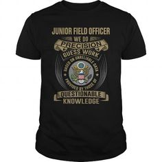 JUNIOR FIELD OFFICER-WE DO T-Shirts, Hoodies (22.99$ ==► Shopping Now!)