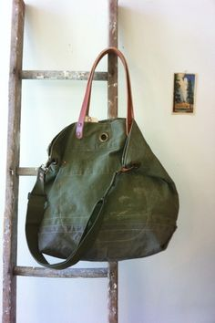 Stanley & Sons Grommet Top Bag