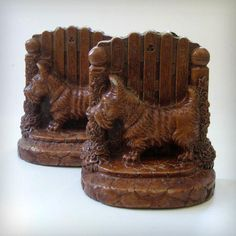 Scotties Vintage bookends by Kultur on Etsy, $24.00