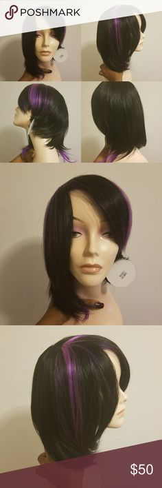 *New* purple and black synthetic wig *New* purple and black synthetic wig Accessories Hair Accessories