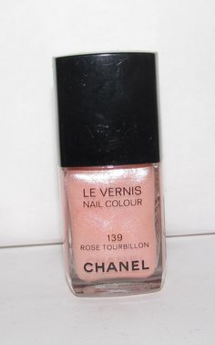 CHANEL Nail Polish Rose Tourbillon 139