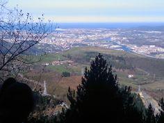 Subiendo al Pagasarri. Bilbao.