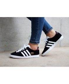 quality design feeef b9c39 Womens Adidas Gazelle OG Floral Black White Trainer Adidas series is now  very popular style shoes, popular design and stylish appearance, is  definitely your ...