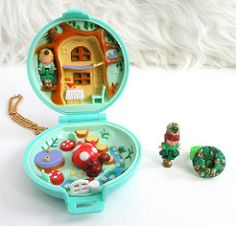Jeweled Forest vintage princess ring collection polly pocket jewel