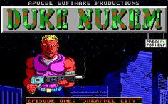 MS-DOS GAME: Duke Nukem