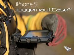 Ruggedized/Wearable iPhone 5 Case & Mounts for Active Users by Juggernaut Defense — Kickstarter
