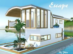 Escape Houseboat / The Sims 3 Island Paradise (download)