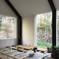 Barnhouse Cabin — Flooring… #barnhousecabin #barn #cabin #cabinporn...