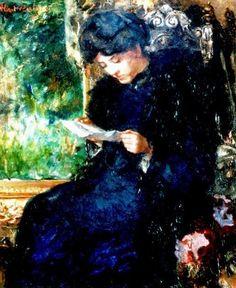 De brief, Albert Roelofs (Dutch, 1877-1920).