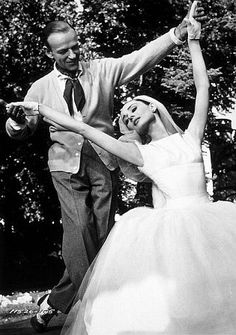 Fred Astaire and Audrey Hepburn in Funny Face - audrey-hepburn photo
