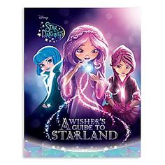 Star Darlings: A Wisher's Guide to Starland Book   Disney Store <i>A Wisher's Guide to Starland</i> introduces us to the Starlings and the incredible, sparkling, positive-energy-powered world they live in. Filled with facts on Starland and its inhabitants, it's sure to be on every tween's wish list!