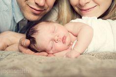 Mom & dad & baby