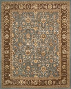 Another rug idea for the Master BR - Nourison Industries - Area Rug Collections - Nourison 3000 - 3102-ltb