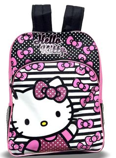 af4401c0c3f6 FAB Starpoint Little Girls  Hello Kitty Pink bow Backpack