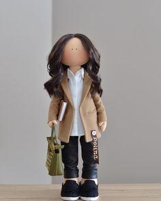 POLINA для Полины  #trendydolls #одинводин #fashionismyprofession #instadaily #instagood #handmade #doll #gift #ручнаяработа