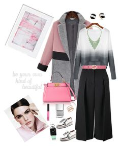 """""""Be your own kind of beautiful!"""" by kikikoji on Polyvore featuring Erdem, Loeffler Randall, Gucci, Fendi, Kate Spade, George J. Love, NARS Cosmetics, EF Collection, PBteen and Casetify"""