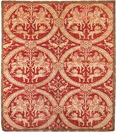 Antique Indian Velvet Rug