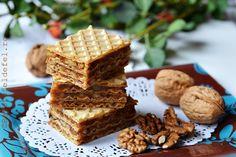 RETETE DE PRAJITURI CU FOI - Rețete Fel de Fel Krispie Treats, Rice Krispies, Waffles, Caramel, Breakfast, Desserts, Food, Sweets, Sticky Toffee