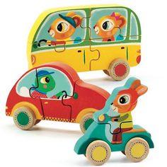 We love the new wooden 3D puzzles from Djeco ❤️ now online @kidsdinge #linkinprofile ☝️#toys #speelgoed #djeco #illustration #illustrations #cars #puzzle #puzzel #sinterklaas #sint #kids #play #puzzelen #kidsdinge #brasschaat #welovekidsdinge