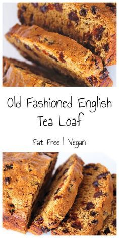 Old Fashioned English Tea Loaf (Dairy-Free / Egg-Free / Fat-Free) – Bit of the… – vegan Loaf Recipes, Baking Recipes, Cake Recipes, Vegan Recipes, Fruit Loaf Recipe, Tea Cakes, Food Cakes, Fruit Cakes, Mini Cakes