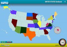 Paieškos JAV valstijų žemėlapyje