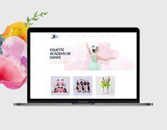 Dance Studio website redesigned by JM Graphics Web Design, Logo Design, Graphic Design, Canada, Graphics, Website, Frame, Design Web, Charts