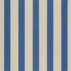 4921-0000 Canvas Block Stripe Mediterranean