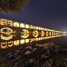 Si-o-seh pol , Isfahan , Iran .. #iranisgreat #mustseeiran #traveltoiran