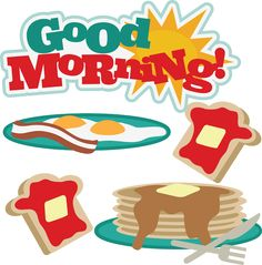 Good Morning - SVG files for scrapbooking