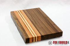 Scrap Wood Cutting Board f-3